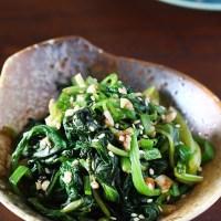 Korean Spinach Banchan (Sigeumchi Namul)