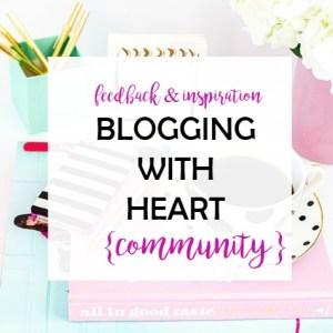Bloggingwith Heart Community