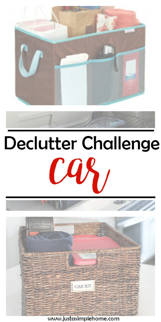 declutter challenge CAR