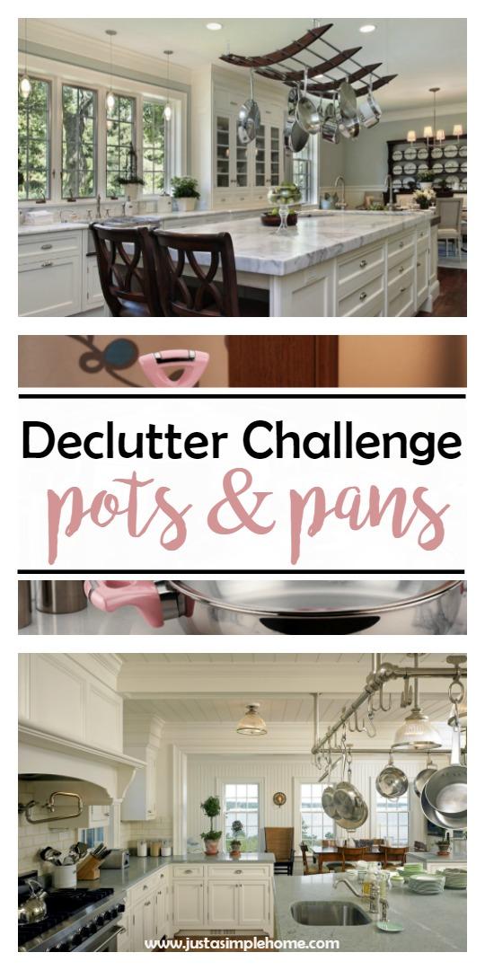 declutter challenge pots