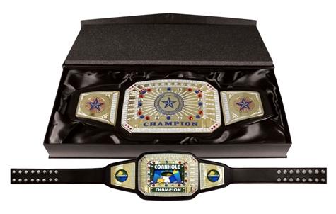 Champion Award Belt For Cornhole