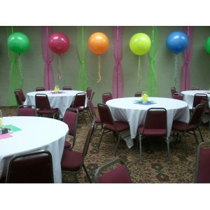 Awesome Balloon Saveenlarge Birthday Party Decorating Ideas Elitflat 80th Philippines