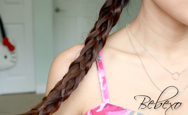 Pull Through Knotted Braid Ponytail by Bebexo