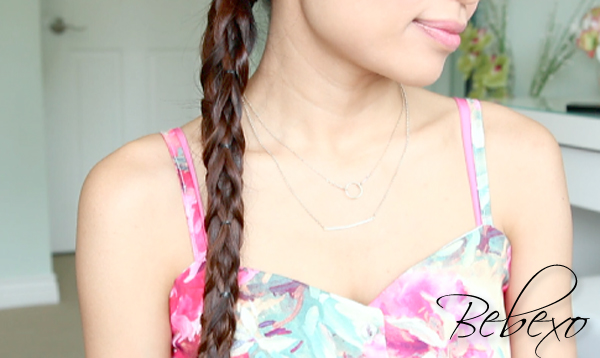 Pull-through Knotted Braid Hairstyle