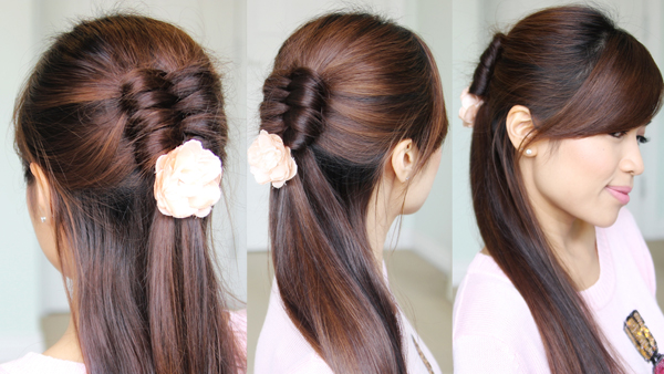 Dutch Infinity Braid Hairstyle