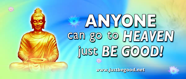 Just be Good - buddhism powerpoint