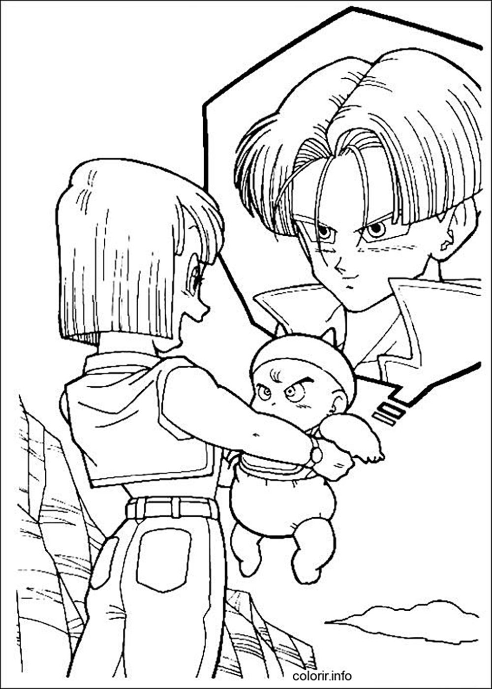 dragon ball super coloring pages gallery