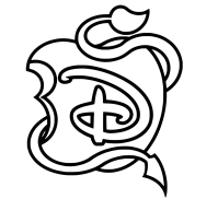 Disney Descendants Coloring Page
