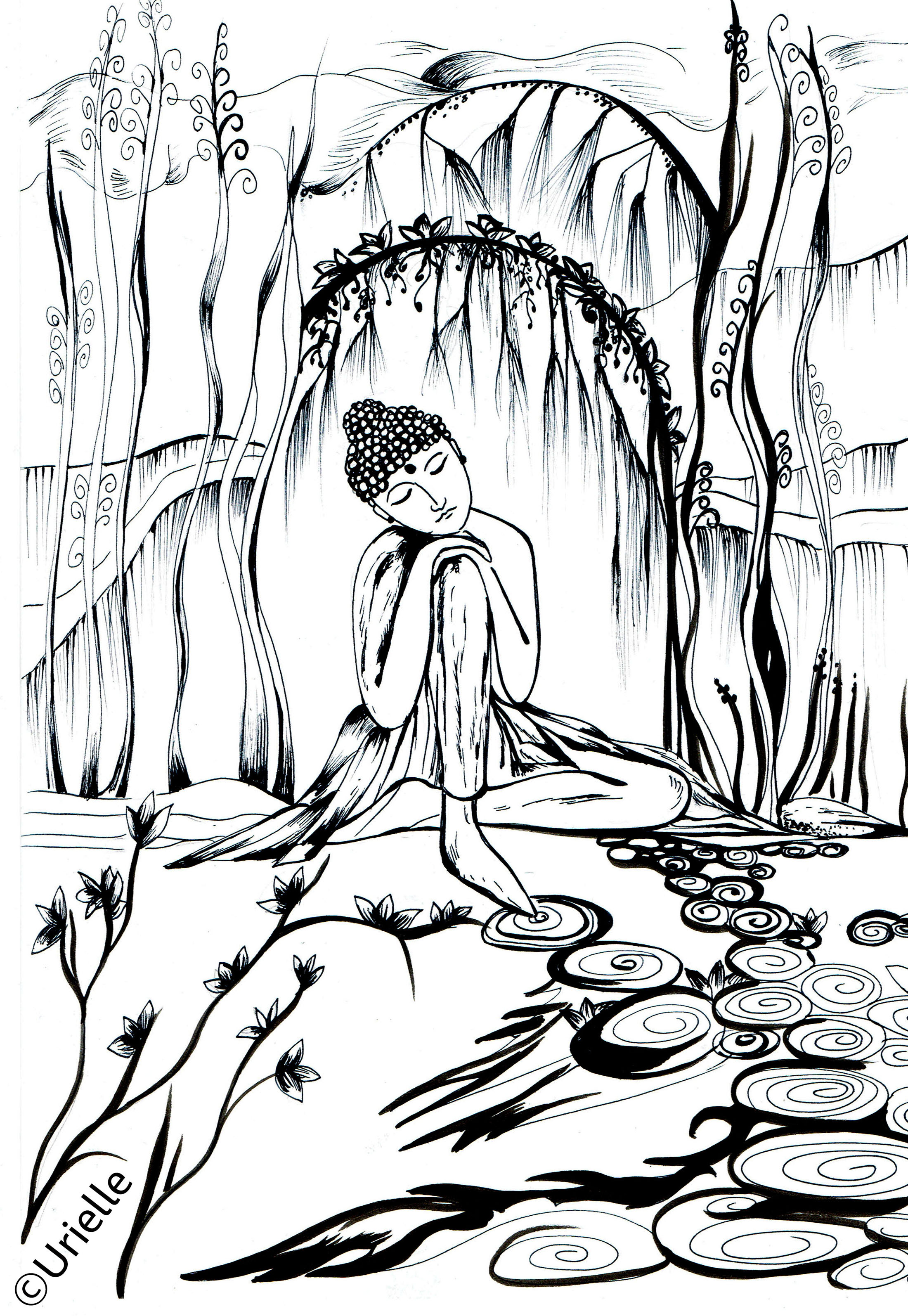 Coloring pages quiet - Download
