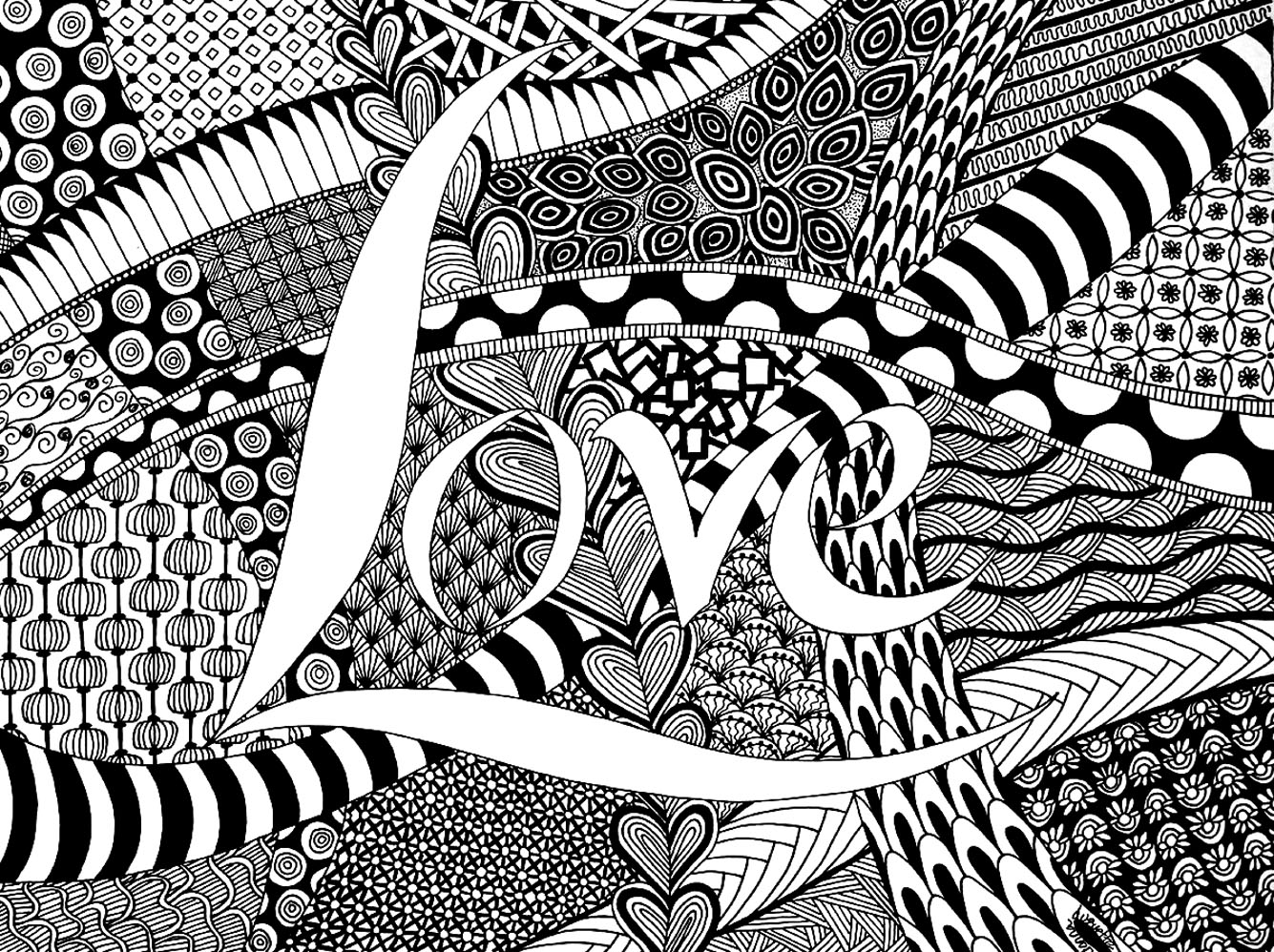 Coloring pages zen - Download