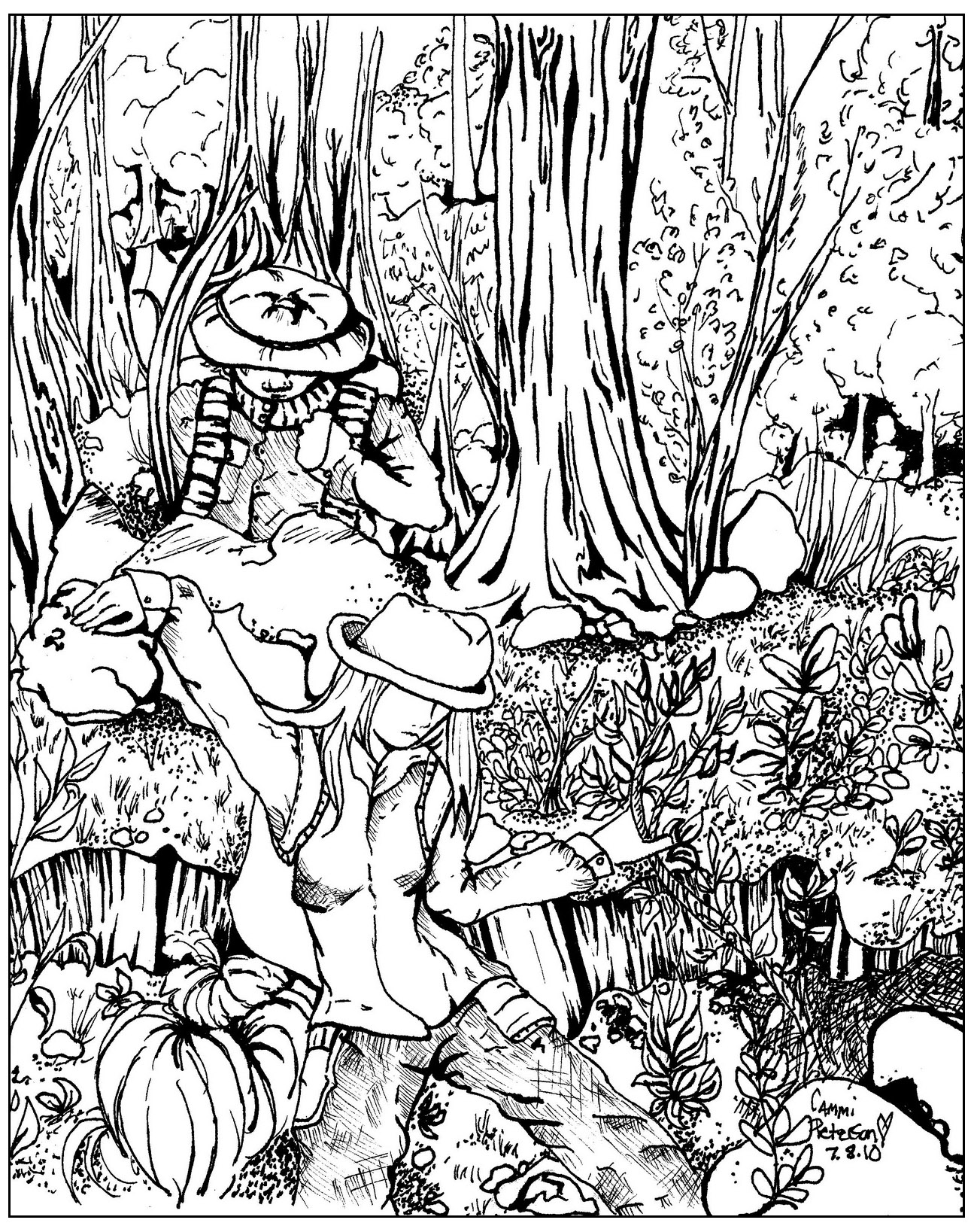 Printable coloring pages jungle -  Jungle Rainforest Coloring Pages To Print Colouring Download