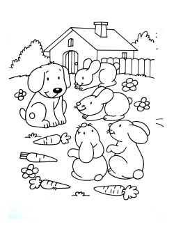 Small Of Dog Coloring Pages For Adults