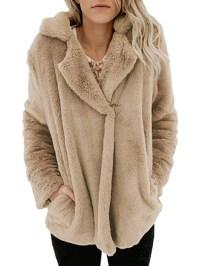 Shawl Collar Sweet Long Sleeve Coats - JustFashionNow.com