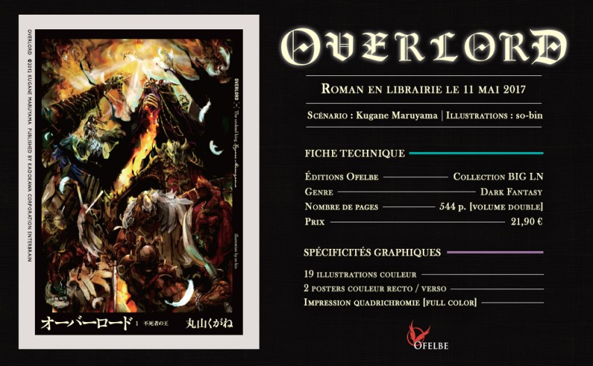 ofelbe light novel Overlord