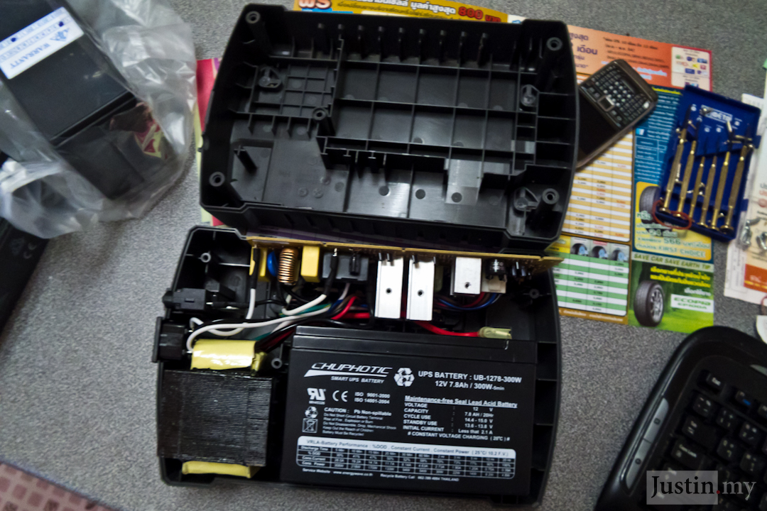 1000w Dell Power Supply Wiring Diagram How To Repair Ups Justin My