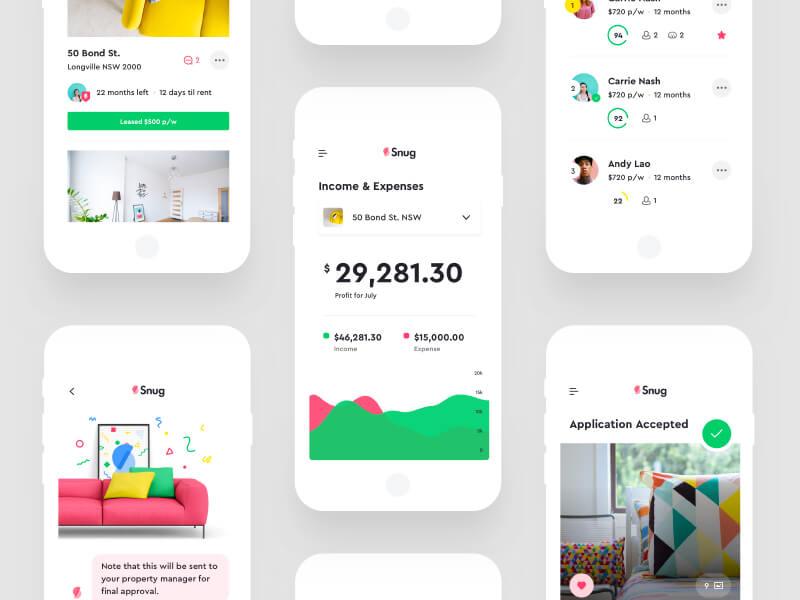 Best mobile app UI designs of 2017 \u2013 UX Planet