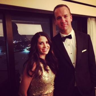Brooke was really glad she married me and not Peyton Manning.