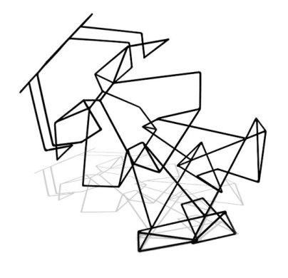 """Welded Steel, 30"""" x 36"""" x 20"""" - 2003"""