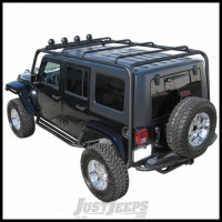 Jeep Parts Buy Smittybilt SRC Roof Rack In Black Textured