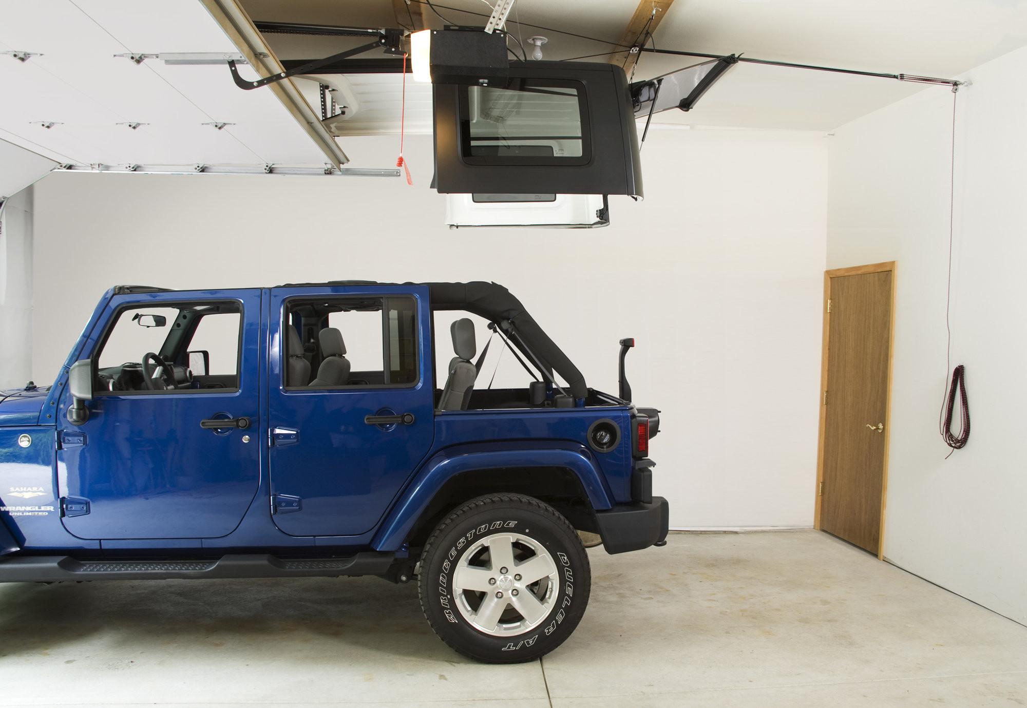 Harken Jeep Wrangler Hoister Garage Storage 4point Lift System