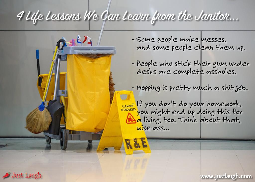 other words for janitor 3slufsluidsprekers