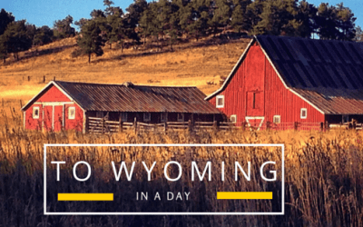 My Micro Adventure Goal – And To Wyoming In A Day