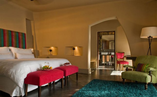 Cavas Wine Lodge guest room