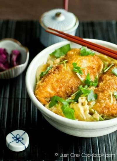 Chicken Katsudon チキンカツ丼 • Just One Cookbook