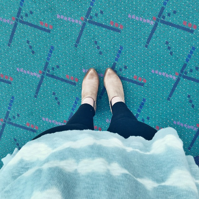 Can't believe I forgot to post my #PDXcarpet pic. Who…
