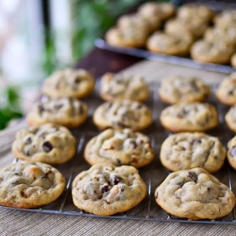 Chocolate Chip Toffee Nut Cookies
