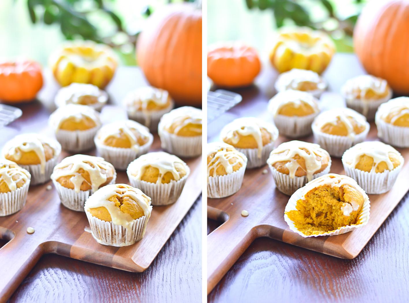 Pumpkin Muffins Collage 2