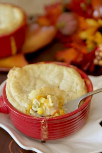 Turkey Pot Pies Recipe - Just Short of Crazy