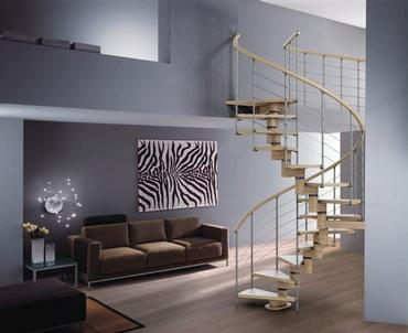 The Gamma Helical Staircase By Rintal