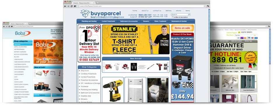 eBay Store Design Just Template IT - ebay store templates