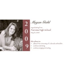 Small Crop Of Graduation Announcement Wording