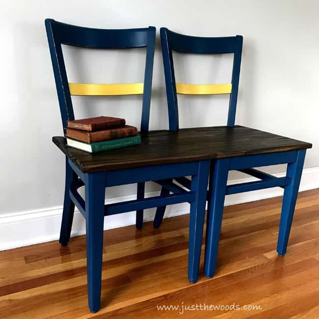 How To Make A Unique Bench From Chairs Repurpose Project