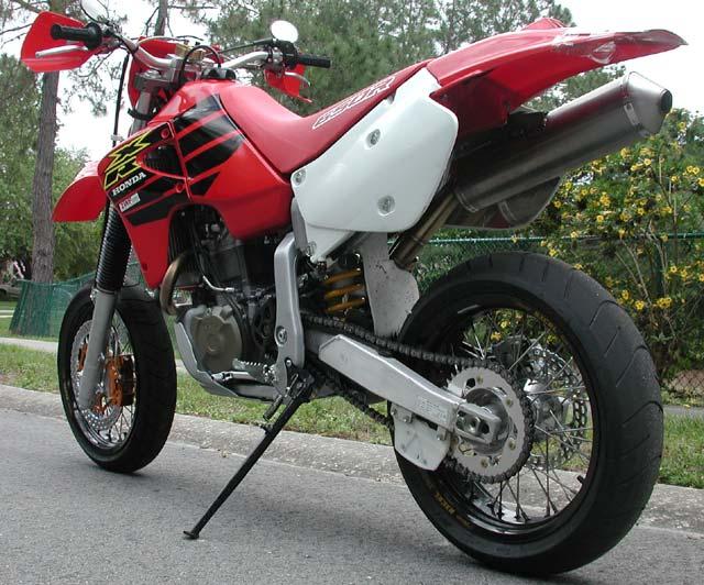 Honda Xr650r Supermotard Part Two