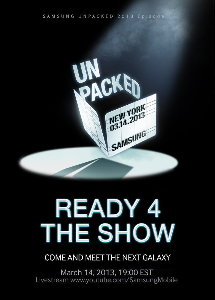 Samsung Mobile teaser for the Samsung S4 smartphone