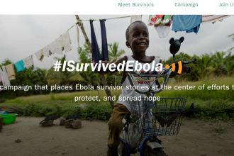I Survived Ebola Website Mobile App JUUCHINI