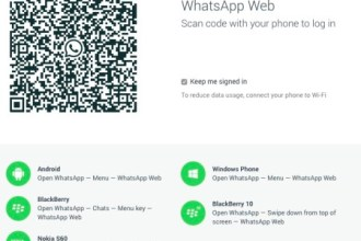 WHATSAPP DESKTOP OPTION INTRODUCED