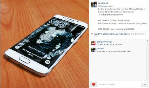 Samsung Galaxy S6 edge Preorder JUUCHINI