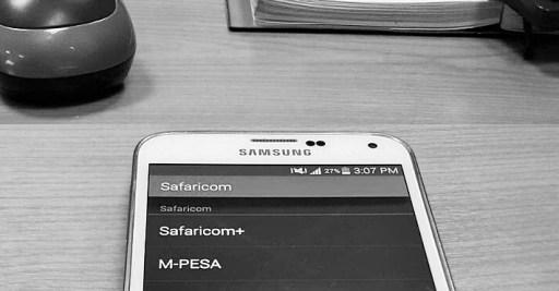 Kenya Mobile Banking Safaricom MPESA Menu JUUCHINI