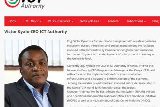 Victor Kyalo Kenya ICT Authority Chief Executive Officer JUUCHINI