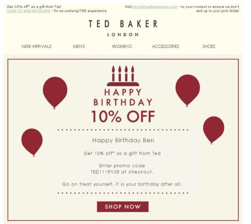 Personalization in email marketing campaigns - personalized e mail