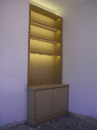 Bookcases With Lights Minimalist | yvotube.com