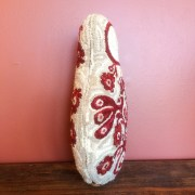 Hooked Babushka Fabric Sculpture