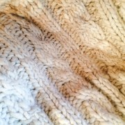 Thick and Lush Cabled Afghan