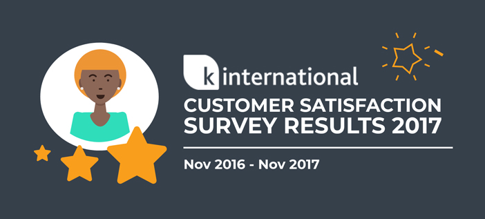 Customer Satisfaction Survey 2017 - K International
