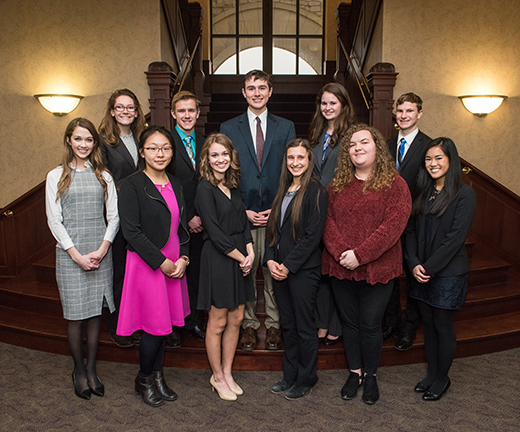 Three high school seniors earn university\u0027s Presidential Scholarship - seniors high school