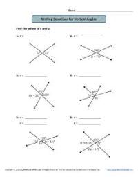 Vertical Angles Worksheet | www.pixshark.com - Images ...
